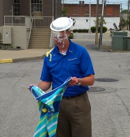 Rick Culiver pie'd for March of Dimes