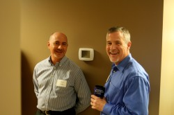 Steward Klipsch and David Jones at LTnow Open House