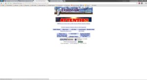 Evansville Online Home Page 1997