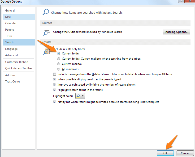 how to delete old mail folders in outlook 2010