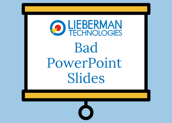 finding alternatives to bad powerpoint slides