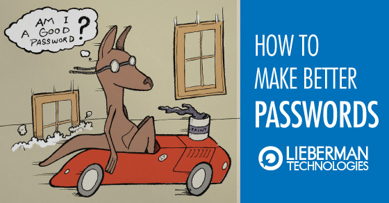 how to make a password