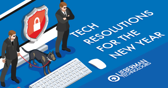 Tech New Years Resolutions