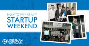 Winning at Startup Weekend