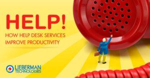 help desk services help company productivity
