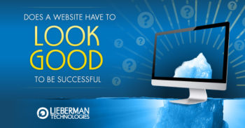 does a website have to look good to be successful?