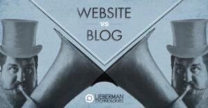 business website or blog