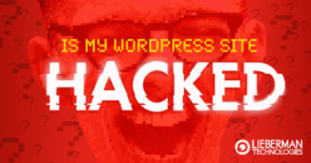 is my WordPress site hacked?