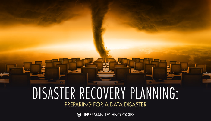 Disaster Recovery Planning Preparing For A Data Disaster
