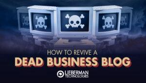 revive a dead business blog