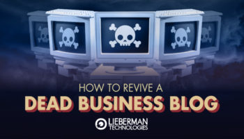 revive a dead business blog