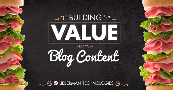 building value into your blog content