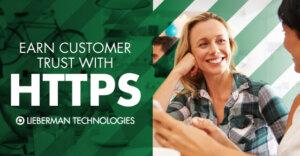 customer trust HTTPS website