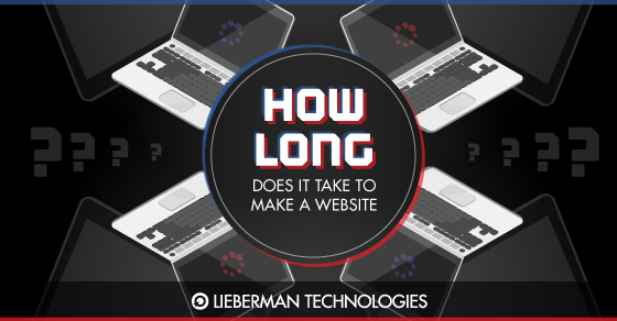 how long does it take to make a website graphic