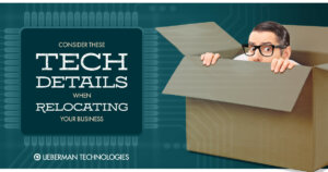 Consider these IT details when moving your office