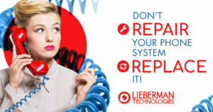 Don't repair your office phone system, replace it.