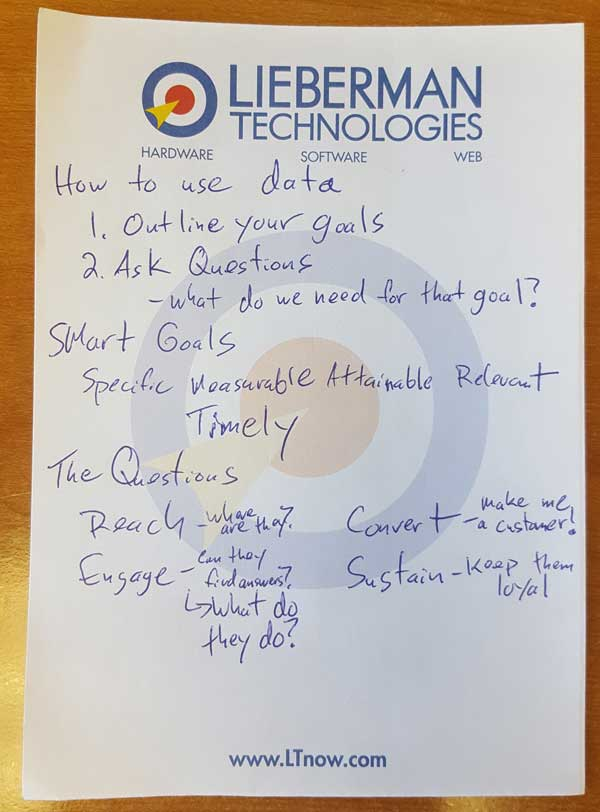 local google business expert notes
