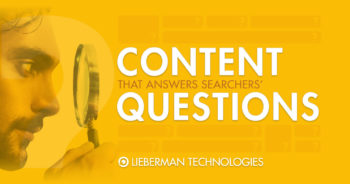 content that answers questions