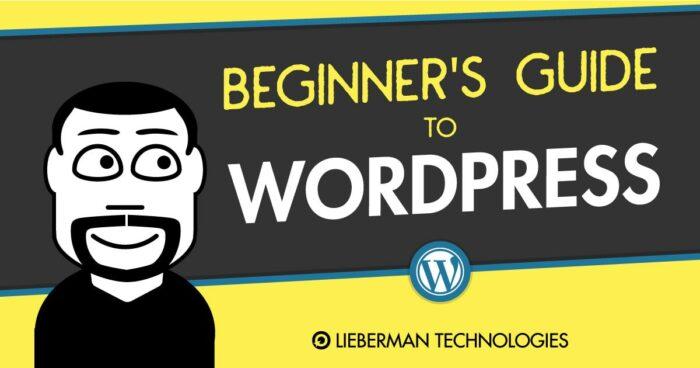 Beginner's Guide to WordPress