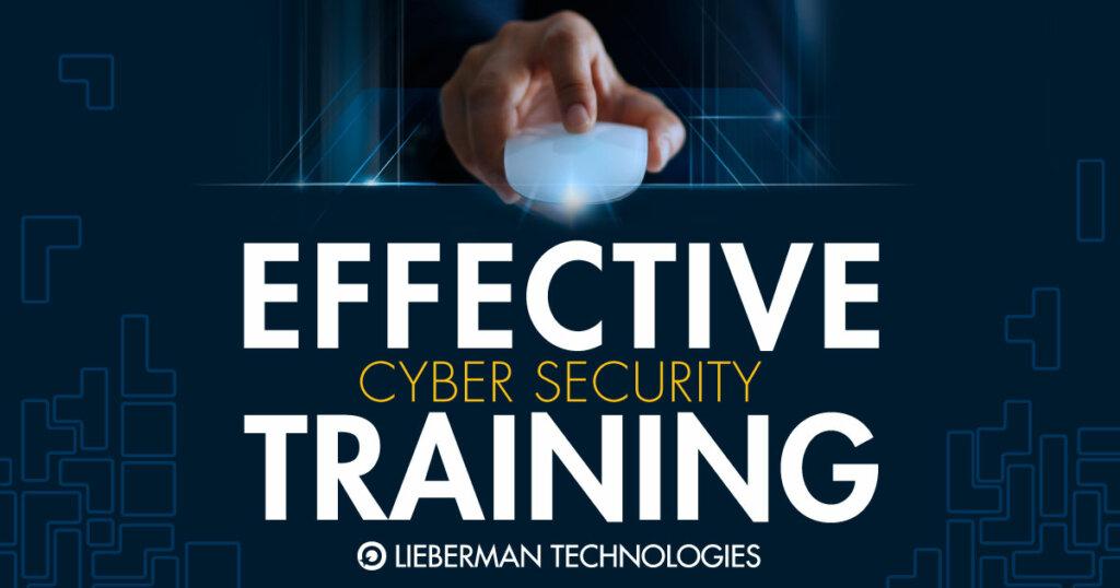 Effective Cyper Security Training