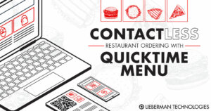 Contactless Menus With QuickTimeMenu