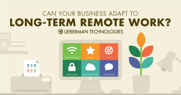 Can Your Business Adapt to Long Term Remote Work