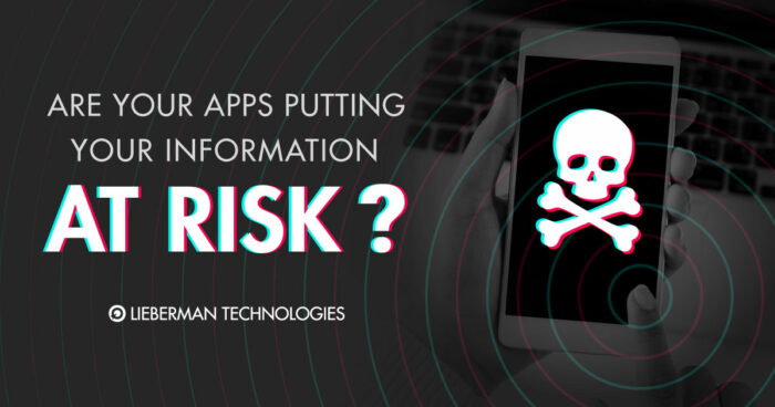 Are Apss putting your information at risk?